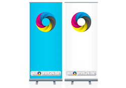 Roll-Up Displays bedrucken